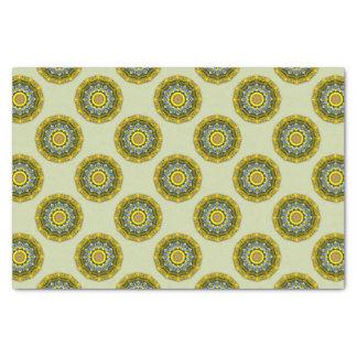 Papier Mousseline Nature de tournesol, Fleur-Mandala