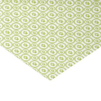 Papier Mousseline Patte-pour-Donnant le tissu de Cadeau-Sac (olive)
