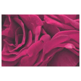 Papier Mousseline Photo florale de roses roses fuchsia romantiques