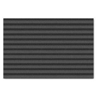 Papier Mousseline Rayure noire de gris de charbon de bois de smoking