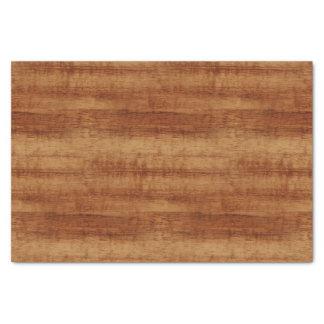 Papier Mousseline Regard du bois de grain d'acacia bouclé de Koa