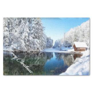 Papier Mousseline Serviette de Noël