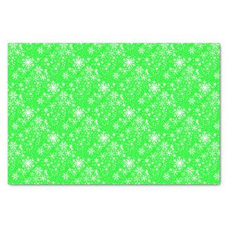 Papier Mousseline Souffle vert de Noël