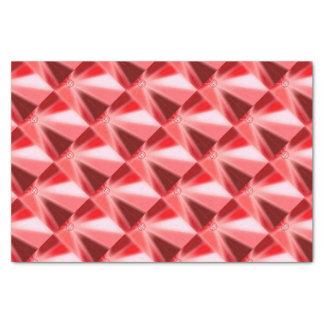 Papier Mousseline Starburst rouge