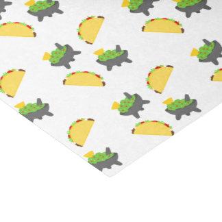 Papier Mousseline Tacos et guacamole