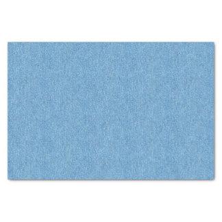 Papier Mousseline Texture bleue moyenne de denim