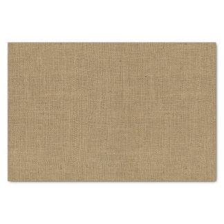 Papier Mousseline Texture de toile de jute