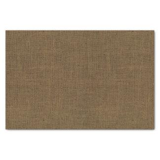 Papier Mousseline Texture de toile de jute de Brown