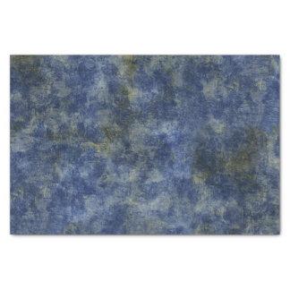 Papier Mousseline Texture rustique de bleu d'indigo