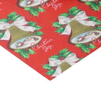 Papier Mousseline Tissu vintage de fête de vacances de cloche de