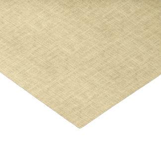 Papier Mousseline Toile de jute brun clair rustique