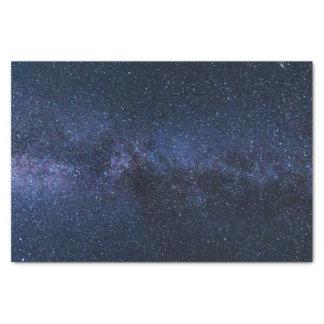 Papier Mousseline Une galaxie des étoiles dans le ciel nocturne
