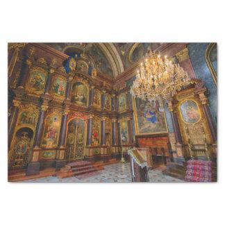 Papier Mousseline Zur Heiligen Dreifaltigkeit de Griechenkirche