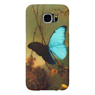Papillon bleu de Martin Johnson Heade Morpho