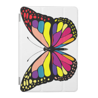 Papillon coloré protection iPad mini