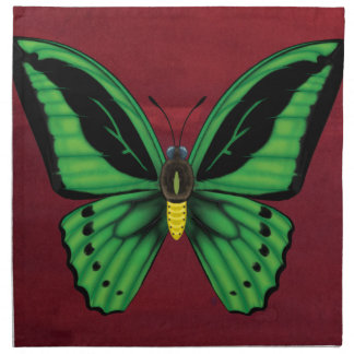 Papillon de Birdwing de cairns Serviettes De Table