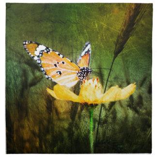 Papillon de Bohème de pays occidental de Serviettes De Table