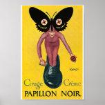 Papillon de cirage à chaussures de Leonetto Poster