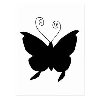 Papillon de diva carte postale