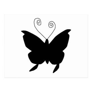 Papillon de diva cartes postales