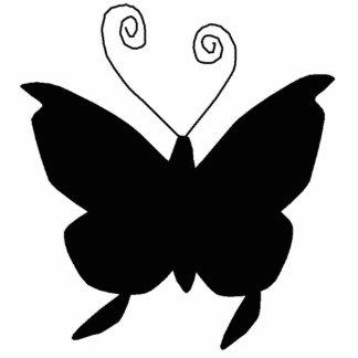Papillon de diva découpage en acrylique