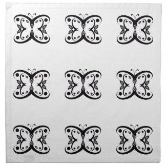 Papillon de Geo Serviettes De Table