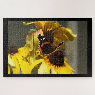 Papillon, puzzle de photo