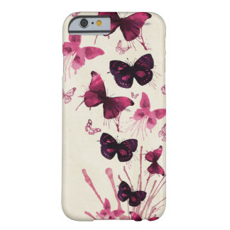 Papillons d'aquarelle coque iPhone 6 barely there