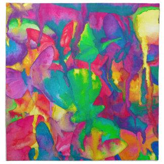 papillons serviettes de table