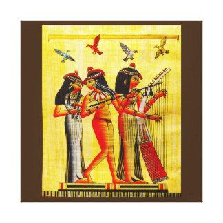 Papyrus égyptien d'amitié toiles