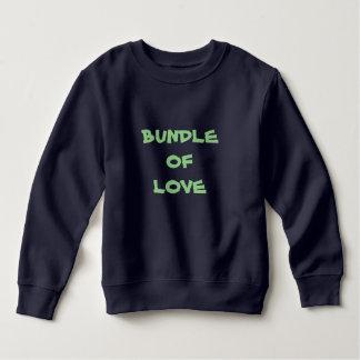 PAQUET de sweatshirts chauds d'ouatine d'enfant en