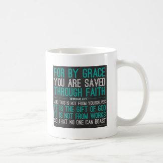 Par grâce par la foi mug
