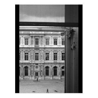 Louuvre cartes postales originales for Fenetre louvre