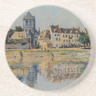 Par la rivière chez Vernon par Claude Monet Dessous De Verre