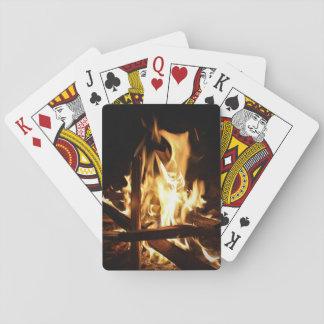 Par les flammes jeu de cartes