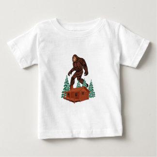 Paradis de Bigfoot T-shirt Pour Bébé