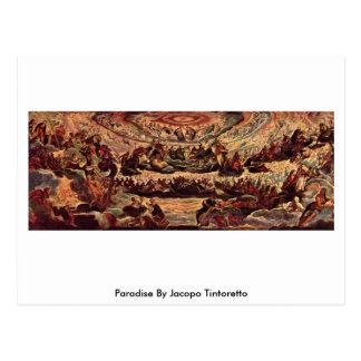 Paradis par Jacopo Tintoretto Carte Postale