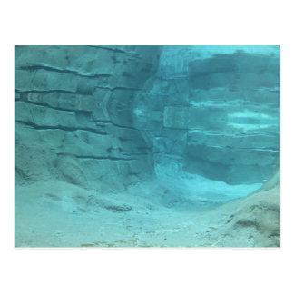 Paradis sous-marin carte postale