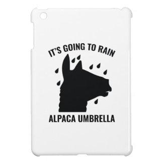 Parapluie d'alpaga coques pour iPad mini