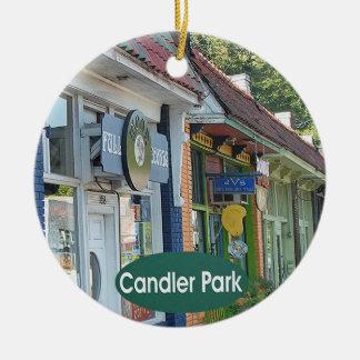 Parc de Candler, ornements de Noël d'Atlanta
