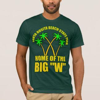 Parc d'état de plage de Père Noël Rosita T-shirt
