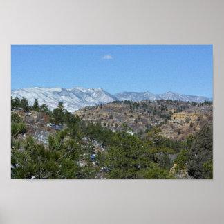 Parc d'état du Colorado de montagnes rocheuses Poster