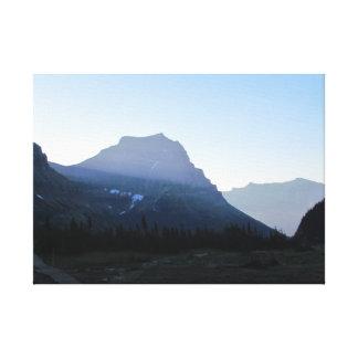 """Parc national 20"""" de glacier x 16"""", 1,5"""" toile"""
