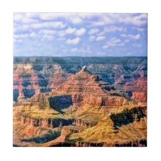 Parc national Arizona de canyon grand Petit Carreau Carré