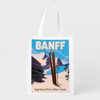 Parc national de Banff dans Alberta, Canada Sac D'épicerie