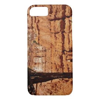 Parc national de boucle de canyon semi-transparent coque iPhone 8/7