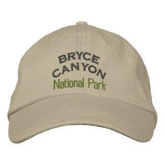 Parc national de canyon de Bryce Casquettes De Baseball Brodées