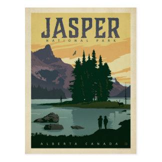 Parc national de jaspe, Alberta Canada Carte Postale