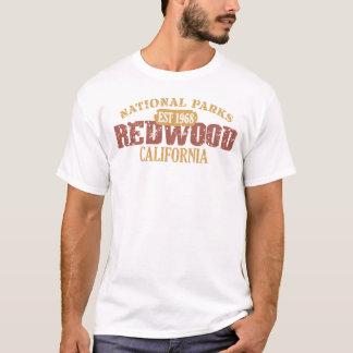 Parc national de séquoia t-shirt