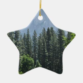 Parc national de Yosemite Ornement Étoile En Céramique